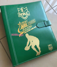 2009 SELECT CLASSIC NRL RUGBY LEAGUE OFFICIAL ALBUM/FOLDER/BINDER - BRAND NEW
