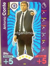 Match Attax 2016/17 Premier League -  M4 Antonio Conte - Manager