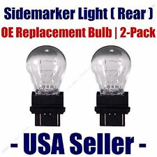 Sidemarker (Rear) Light Bulb 2pk - Fits Listed Dodge Vehicles - 3057