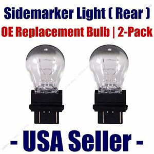 Sidemarker (Rear) Light Bulb 2pk - Fits Listed GMC Vehicles - 3057