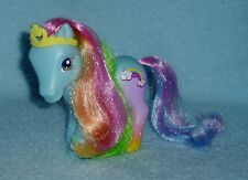 "Rare My Little Pony ""Rainbow Dash"" with Yellow Crown Favorite Friends Pony EUC!"