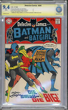 Detective #385 CBCS NM 9.4 Batman Neal Adams Signature Series