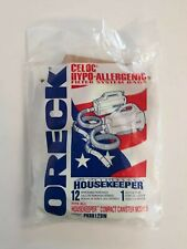 Oreck Hypo Allergenic Filter System Bags(6)fits all Housekeeper Canister Models
