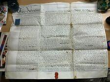 27 MAY 1879 1-PAGE VELLUM INDENTURE - CULLUM (BROMYARD, HEREFORDSHIRE) (LL)