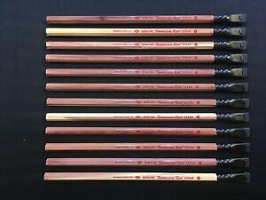 12 Custom Blackwing Hackwings Tennessee Red Pencils + Palomino Blackiwng Ferrule