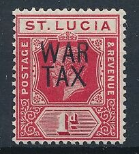 [55405] St-Lucia 1916 good carmine-red MNH VF signed stamp $80 (SG.89b)