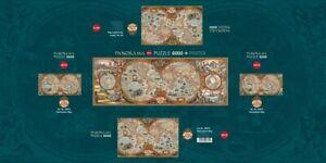 HY29615 - Heye Puzzles - Panorama , 6000 pc - Hemisphere Map
