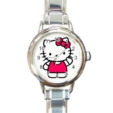 Hello Kitty Round Italian Charm Watch HK1