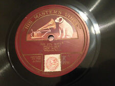 """JACK SMITH """"Are You Sorry?""""/ """"Some Other Bird Whistled A Tune"""" 78rpm 10"""" 1926 EX"""