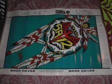 Vintage POWELL PERALTA STEVE SAIZ Skateboard Bookcover Poster old school '89 NOS