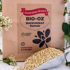 Bio-Oz Buckwheat Kernels GF 4.7kg Australian Grown Freight Free