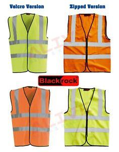 Blackrock Hi Vis High Visibility Reflective Viz Vest Safety Waistcoat Workwear