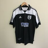 PAOK FC Adidas 2001/2002 Vintage Football Soccer Mens Jersey Large
