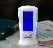LED Digital Home Alarm Clock Multi Functional Clock LED Calendar Thermometer