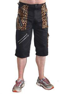 Tiger of London Leopard Trim Bondage Shorts