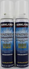 Kirkland Signature Hair Regrowth Topical Aerosol Foam Men's 5% Minoxidil 2 Month
