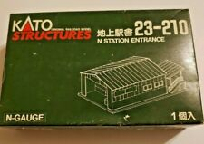 N SCALE KATO STRUCTURES 23-210 TRAIN STATION ENTRANCE, GREAT FOR YOUR LAYOUT!