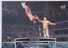 2013 TOPPS WWE SIN CARA TRIPLE THREAT 2 WRESTLING INSERT CARD