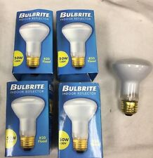 50R20/FL 50 Watt R20 Incandescent Flood Light Bulb LongLife Dimmable 4-Pcs