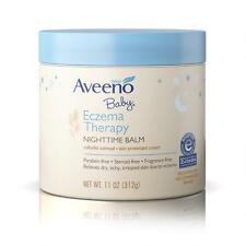 Aveeno Baby Eczema Therapy Night Time Balm 11 Ounce Jar 325ml