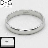DG Men's Women's 925 Sterling Silver,Rings,marriage 5 6 7 8,9,10,11,12 Box