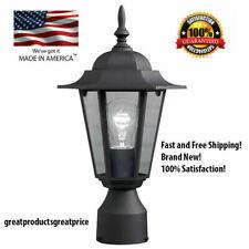 Post Pole Light Outdoor Garden Patio Driveway Yard Lantern Lamp Fixture/