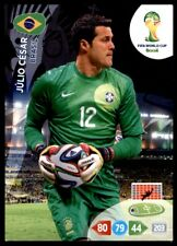 Panini Brazil 2014 Adrenalyn XL Júlio César Brasil Base card