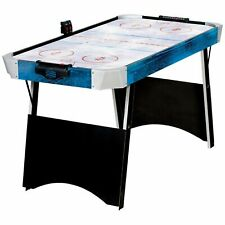 """Franklin 54"""" Quikset Air Hockey Table Blue And White Model 54200X Indoor Fun NEW"""