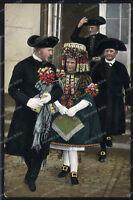 AK-Hessische Trachten-Tracht-Schwälmer Brautpaar-1938-Hessen