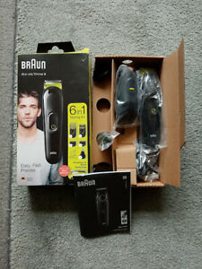 Braun All In One Trimmer 3 Model No MGK3221