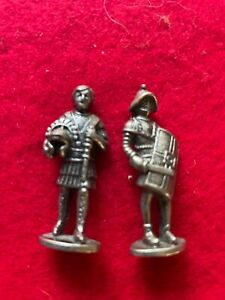 Kinder Metal soldiers Southern Europe Romans 2in a set of 6 in PEWTER   40 mm