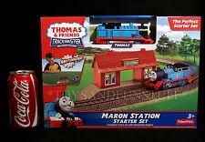 New MARON STATION Starter Set - TRACK MASTER Thomas & Friends - MOTORIZED ENGINE