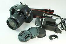 Canon EOS 1100D 12.0M Digital SLR Camera Black w/ EF-S III 18-55mm Lens
