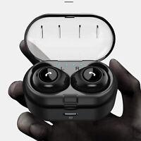 True Wireless Earbuds Bluetooth 5.0 Sport Earphones Business Headset Waterproof