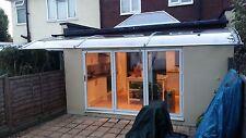 CANOFIX 1500x4500mm DIY Door Canopy Polycarbonate Cantilever Porch Patio Walkway
