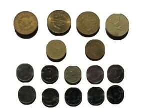 Collection of 16 coins from Guatemala (Quetzal)