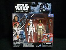 Star Wars Rogue One 3.75 Baze Malbus & Imperial Storm Trooper set.