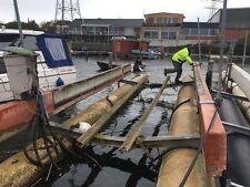 Boots Ponton Schwimmkörper 10m Steg für Boote oder Hausboot etc Schwimmsteg