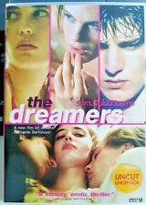 The Dreamers (Uncut 115 Mins) Dvd R0 - Bernardo Bertolucci, Teen Erotic Drama