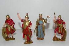 "Landi Roman Soldiers Nativity Scene 3-1/8""H Figurines Presepio Pesebre Soldados"