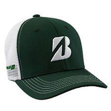 New 2018 Bridgestone Golf Mesh Color Block Adjustable Hat/Cap Color: Green