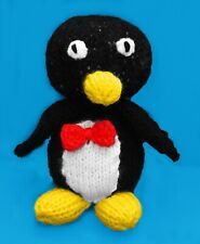 KNITTING PATTERN - Wheezy Penguin inspired Choc orange cover / 14 cms Toy Story