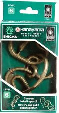 Enigma ~ Level 6 ~ BePuzzled Hanayama Cast Metal Brainteaser NEW!