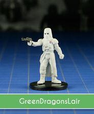 Star Wars miniatures mini  Imperial Entanglements Snowtrooper Commander #22