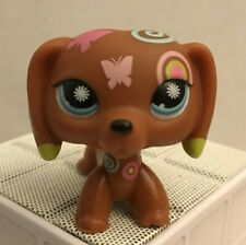 Littlest Pet Shop Authentic #1010 Postcard Dachshund Hasbro