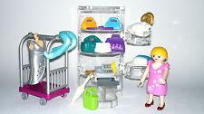 Playmobil Centre Commercial, Magasin Accessoires avec Vendeuse, Chapeaux, Sacs