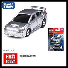 TOMICA COOL DRIVE TCD24 SUBARU WRX STI TYPE S 1/62 SILVER TOMY 112