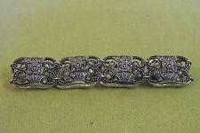 Armband - wunderschönes mit Steinen besetztes Armband in 835 er Silber