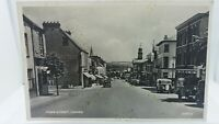 Vintage Rp Postcard Fore Street Chard National Provincial Bank Real Photo 1956