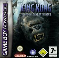 King Kong: The Official Game of the Movie - GameBoy Advance - SEE NOTES